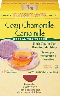 Bigelow Cozy Chamomile Tea Pods 18/pack