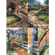 MAP Brand Dental Assorted Laser Postcards Assorted Cottages