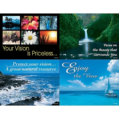 MAP Brand Eye Care Assorted Laser Postcards Enjoy The View
