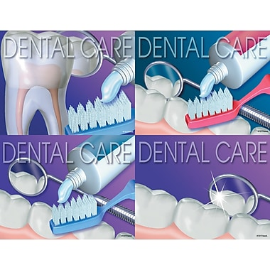 MAP Brand Dental Assorted Laser Postcards Dental Care