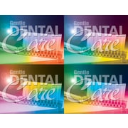 MAP Brand Dental Assorted Laser Postcards Gental Dental Care