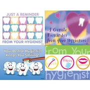 MAP Brand Dental Assorted Laser Postcards Hygenist Reminder