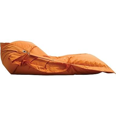 Comfy-Ture – Fauteuil 67PV en mousse comprimée, 27 x 12 x 21 po, orange