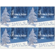 MAP Brand Scenic Laser Postcards, Time to Freshen Your Smile