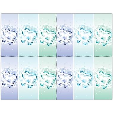 MAP Brand Graphic Image Laser Postcards Three Teeth