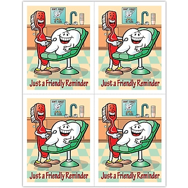 MAP Brand Dental Laser Postcards Smile Team Friendly Reminder