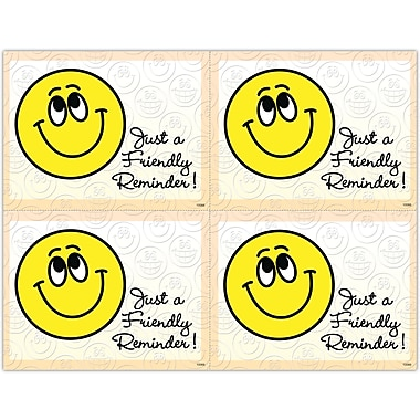 MAP Brand Graphic Image Laser Postcards Smiley Face,
