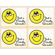 "MAP Brand Graphic Image Laser Postcards Smiley Face, ""Just a Friendly Reminder"""
