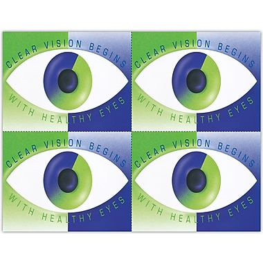 MAP Brand Reminder Laser Postcards Modern Eye