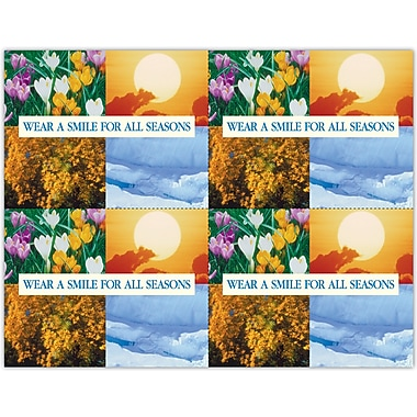 MAP Brand Scenic Laser Postcards Wear a Smile for All Seasons