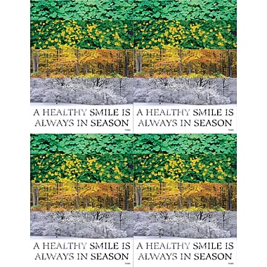 MAP Brand Scenic Laser Postcards A Healthy Smile Is Always In Season