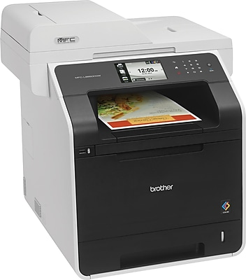 Brother MFC-L8850CDWColor Laser All-in-One with Wireless Networking and Advanced Duplex (MFCL8850CDW)