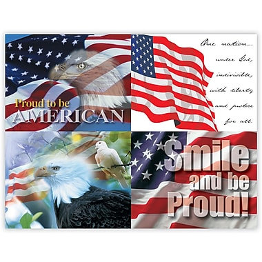 MAP Brand Scenic Assorted Laser Postcards America