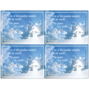 MAP Brand Scenic Deluxe Laser Postcards Clouds