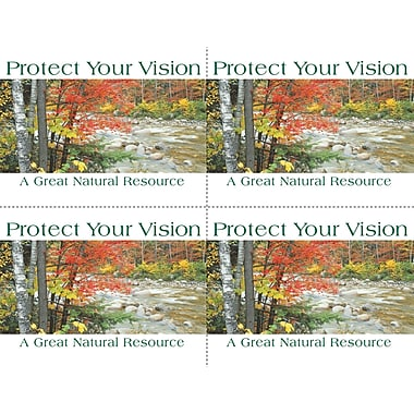 MAP Brand Scenic Laser Postcards Mountain River