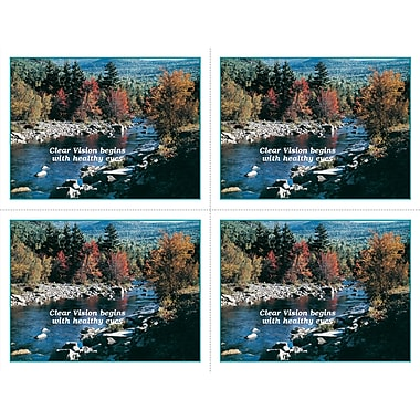 MAP Brand Scenic Laser Postcards Mountain Stream,