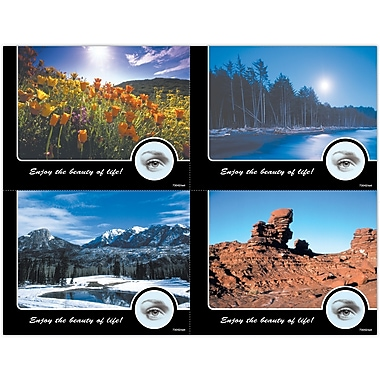 MAP Brand Scenic Assorted Laser Postcards Nature Photos