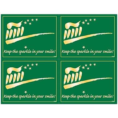 MAP Brand Gentle Dental Laser Postcards Keep Sparkle