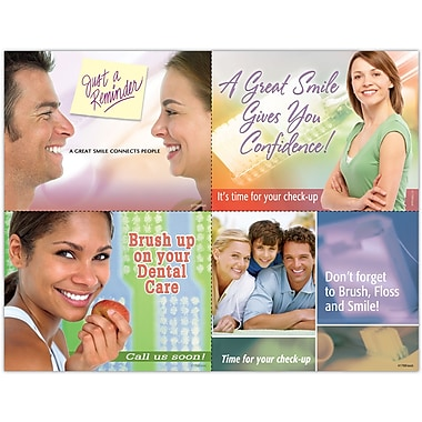 MAP Brand Cosmetic Dentistry Assorted Laser Postcards Brush Up