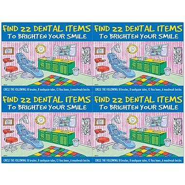 MAP Brand Patient Interactive Laser Postcards Find 22 Dental Items