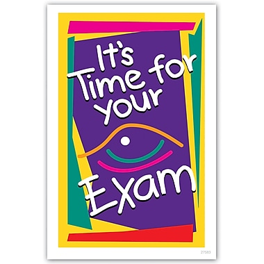 MAP Brand Graphic Image Laser Postcards Time for Exam