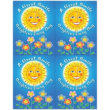 MAP Brand Graphic Image Laser Postcards A Great Smile