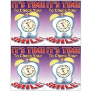 MAP Brand Graphic Image Laser Postcards Its Time to Check Your Smile