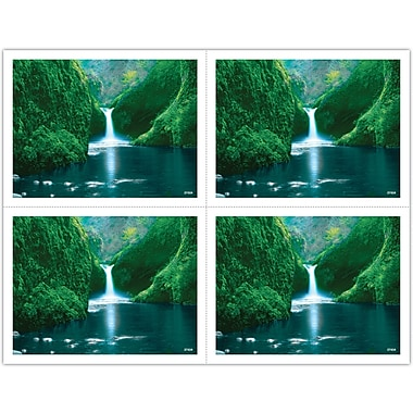 MAP Brand Scenic Laser Postcards Jungle Waterfall