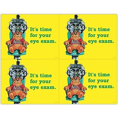 MAP Brand Cartoon Laser Postcards Bear in Exam Chair