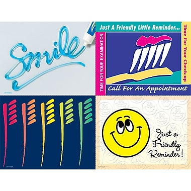 MAP Brand Graphic Image Assorted Laser Postcards Smile