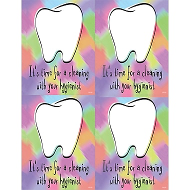 MAP Brand Hygienist Laser Postcards Time for a Cleaning