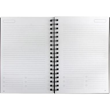 Cambridge® Casemade Notebook With Linen Cover, 9-1/2