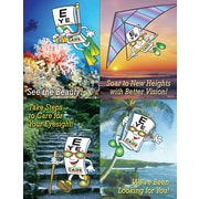"MAP Brand Eye Guy Assorted Laser Postcards ""See The Beauty"""