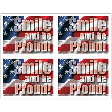 MAP Brand Recycled Laser Postcards Smile and be Proud