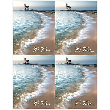 MAP Brand Scenic Laser Postcards Scenic Lighthouse