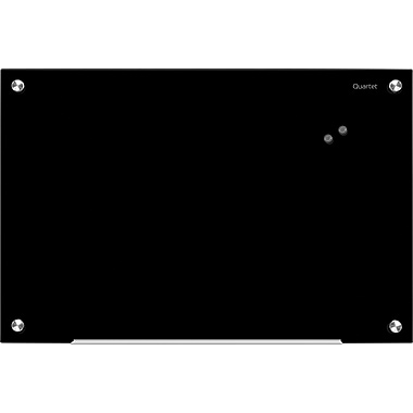 Quartet® Infinity™ Magnetic Glass Dry-Erase Boards, Black
