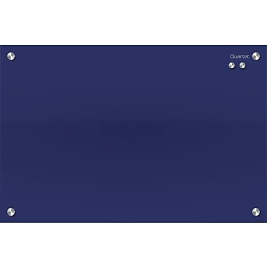 Quartet® Infinity™ Magnetic Glass Dry-Erase Board, Blue, 24