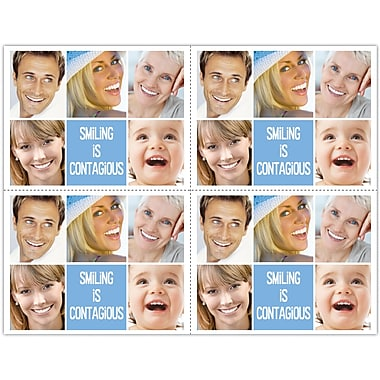 MAP Brand Cosmetic Dentistry Laser Postcards Smiling is Contagious