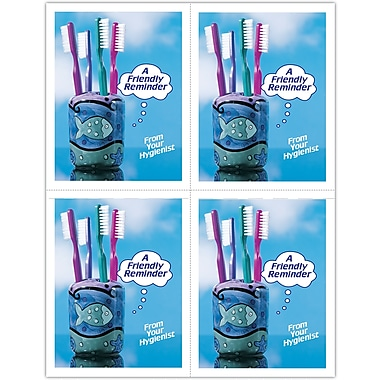 MAP Brand Hygienist Laser Postcards Friendly Reminder