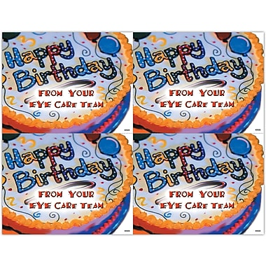 MAP Brand Graphic Image Laser Postcards From Eye Care Team