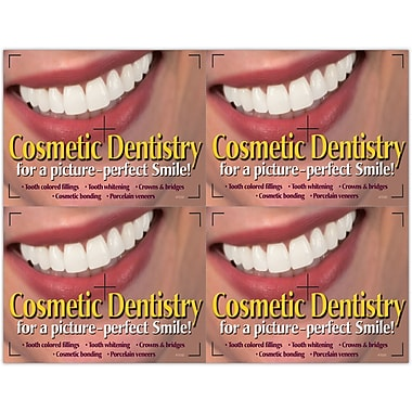 MAP Brand Cosmetic Dentistry Laser Postcards Picture Perfect Smile Deluxe