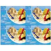MAP Brand Photo Image Laser Postcards , Summer