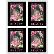 MAP Brand Scenic Laser Postcards Beauty/Butterfly