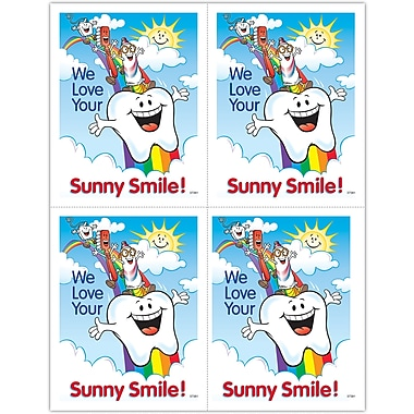 MAP Brand Smile Team Laser Postcards Smile Team, Rainbow