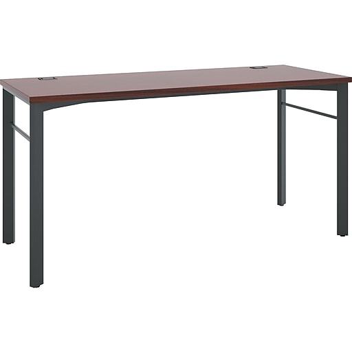 Basyx By Hon 60 Rectangular Conference Table Chestnut