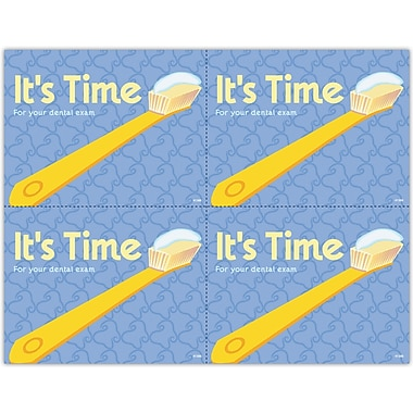 MAP Brand Hygienist Laser Postcards Time for Exam