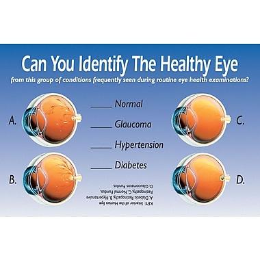 MAP Brand Patient Interactive Laser Postcards Identify Healthy Eye