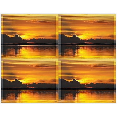 MAP Brand Scenic Laser Postcards Sunset