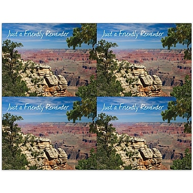 MAP Brand Photo Image Laser Postcards Canyon & Trees