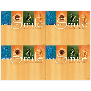 MAP Brand Graphic Image Laser Postcards Protect Your Smile